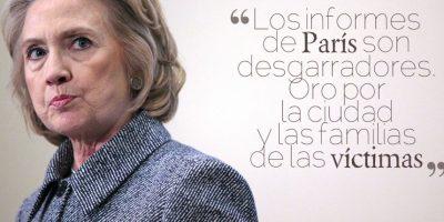 HILARY CLINTON, candidata del Partido Demócrata a la Presidencia de los Estados Unidos. Foto:Getty Images