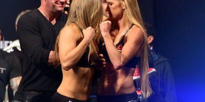 Video: Ronda Rousey y Holly Holm llegan a los golpes en pesaje de UFC 193