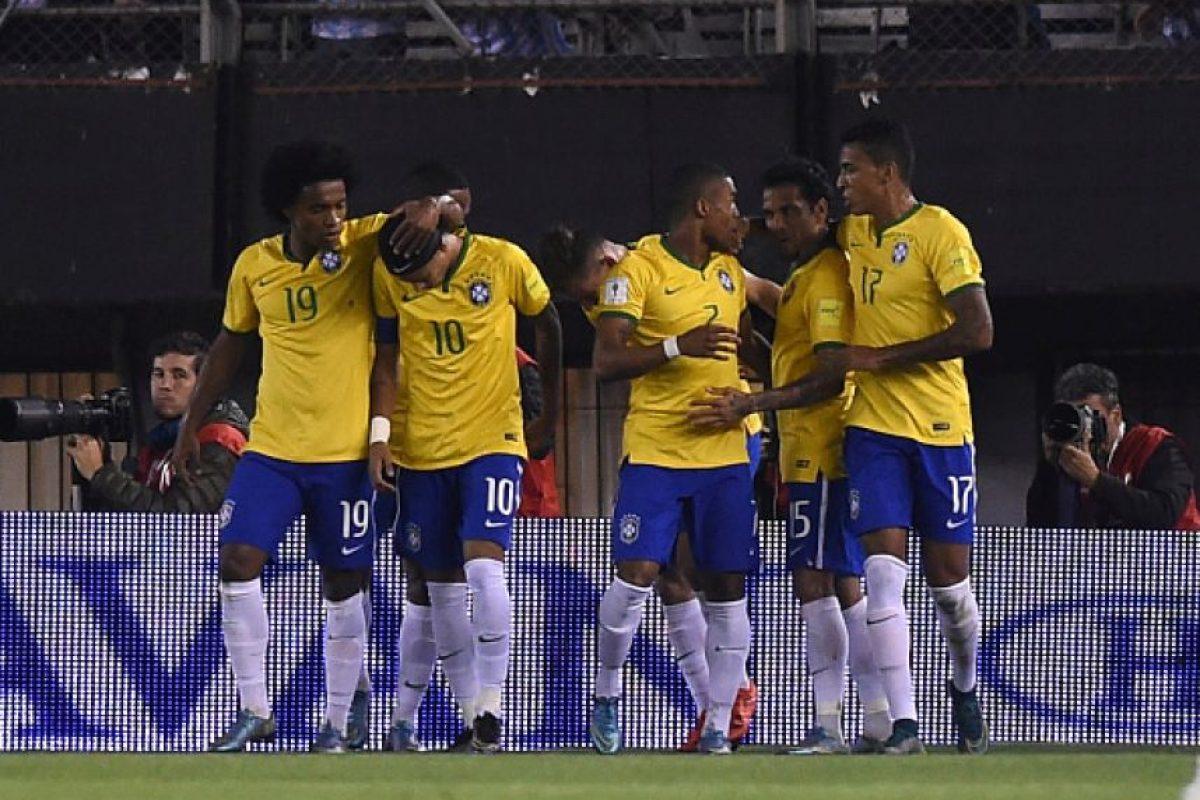 6. Brasil Foto:Getty Images