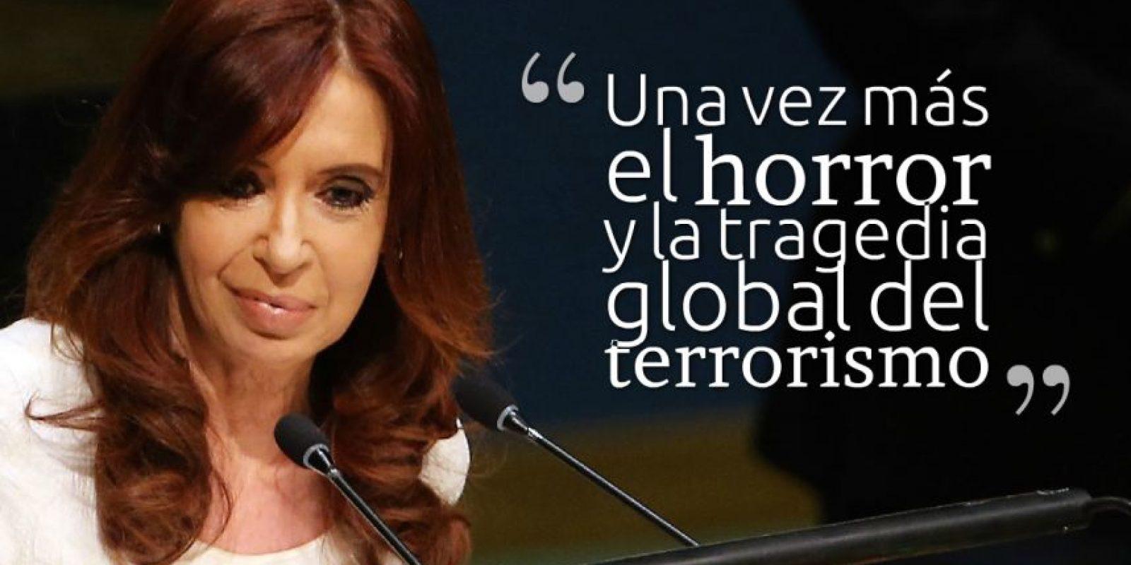 CRISTINA FERNÁNDEZ DE KIRCHNER, Presidenta de Argentina. Foto:Getty Images