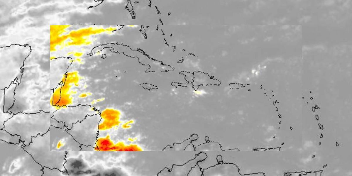 Vaguada provocará aguaceros a primeras horas de la noche, según Onamet