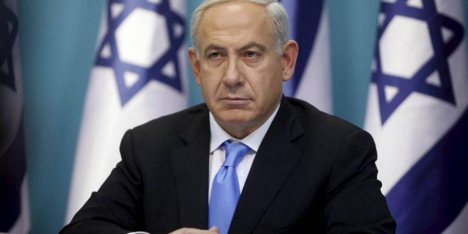 """""""Israel está codo con codo con el presidente francés, François Hollande y con el pueblo de Francia en la lucha contra el terrorismo"""". Foto:Getty Images"""