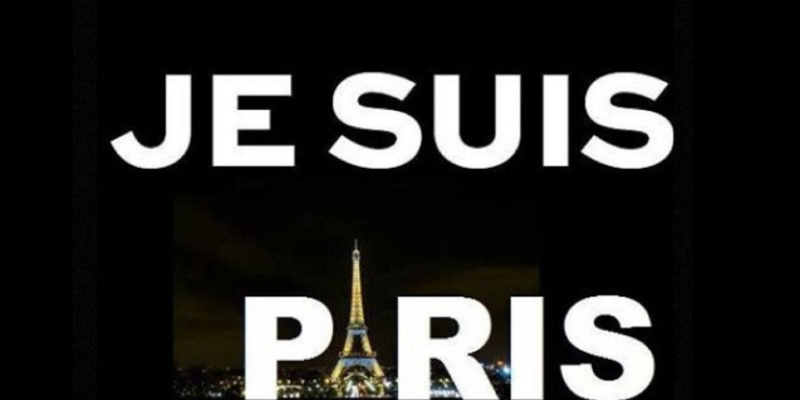 Han salido expresiones simbólicas de solidaridad. Foto:vía Twitter