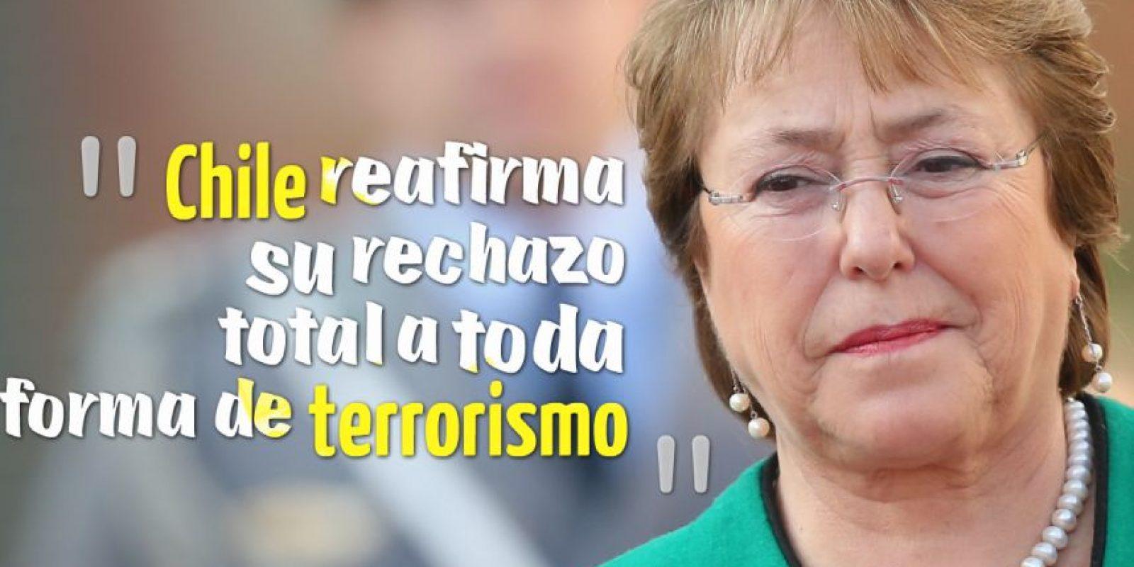 MICHELE BACHELET, Presidenta de Chile. Foto:Getty Images