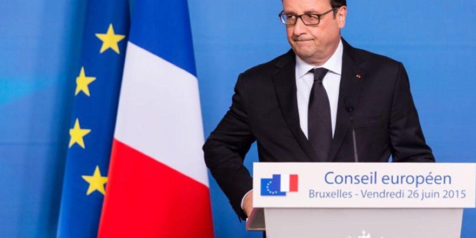 """El presidente de Francia, Francois Hollande, condenó estos hechos: """"Nuestra respuesta es la acción, prevención, disuasión y por lo tanto, la necesidad de aportar valores y no ceder al miedo. Nunca"""". Foto:AFP"""