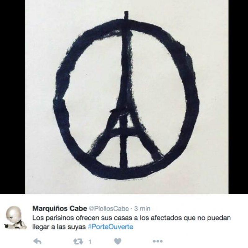 Pero lo que se está haciendo en París ya corrió la voz. Foto:vía Twitter