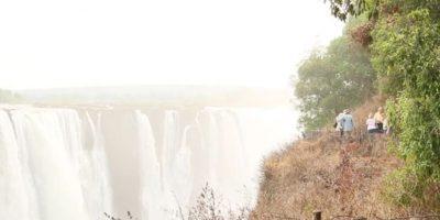 4. La cascada más grande del mundo se secó. Foto:Vía Youtube