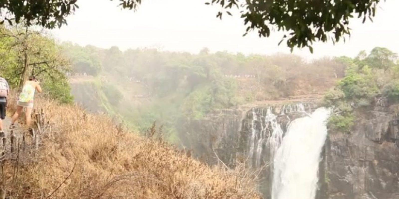 El pasado 17 de octubre se realizó un video por parte de Africa Albida Tourism en el que se mostraba la cascada completa. Foto:Vía Youtube