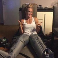 Su récord total como peleadora es de 33 victorias, dos derrotas y tres empates. Foto:Vía instagram.com/_hollyholm