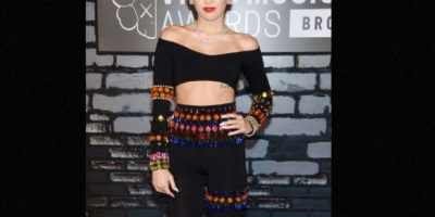 Miley Cyrus nació para ser controversial. Foto: vía Getty Images