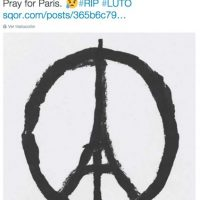 David Luiz: Oremos por París. Foto:Vía twitter.com/DavidLuiz_4