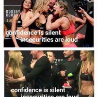 La confianza es silenciosa, la inseguridad hace ruido. Foto:Vía facebook.com/MemesMMA