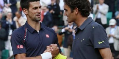 Djokovic y Federer, por la vía rápida en el Masters de Londres
