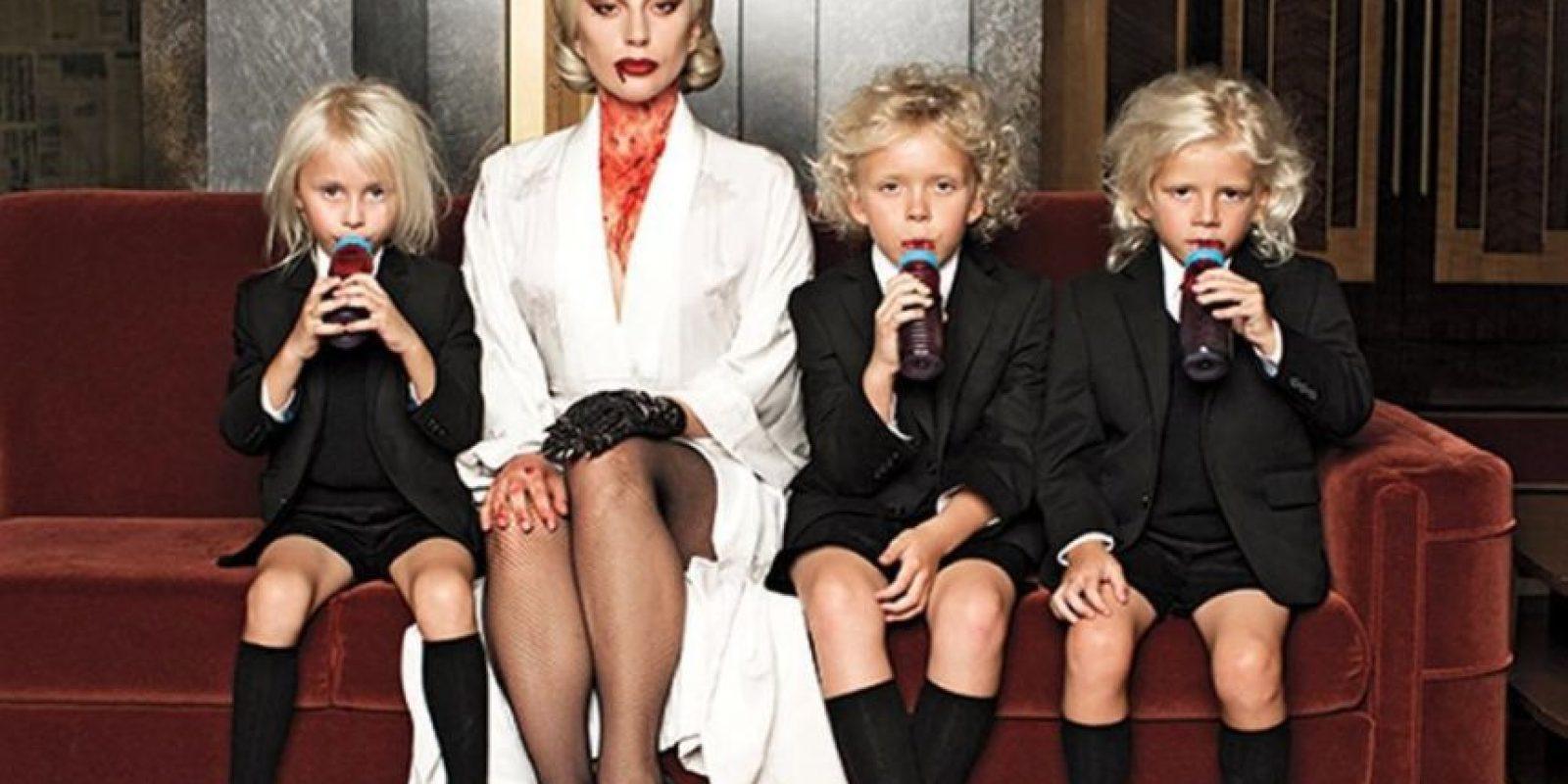 """Su papel es el de """"Elizabeth"""" Foto:vía instagram.com/ladygaga"""