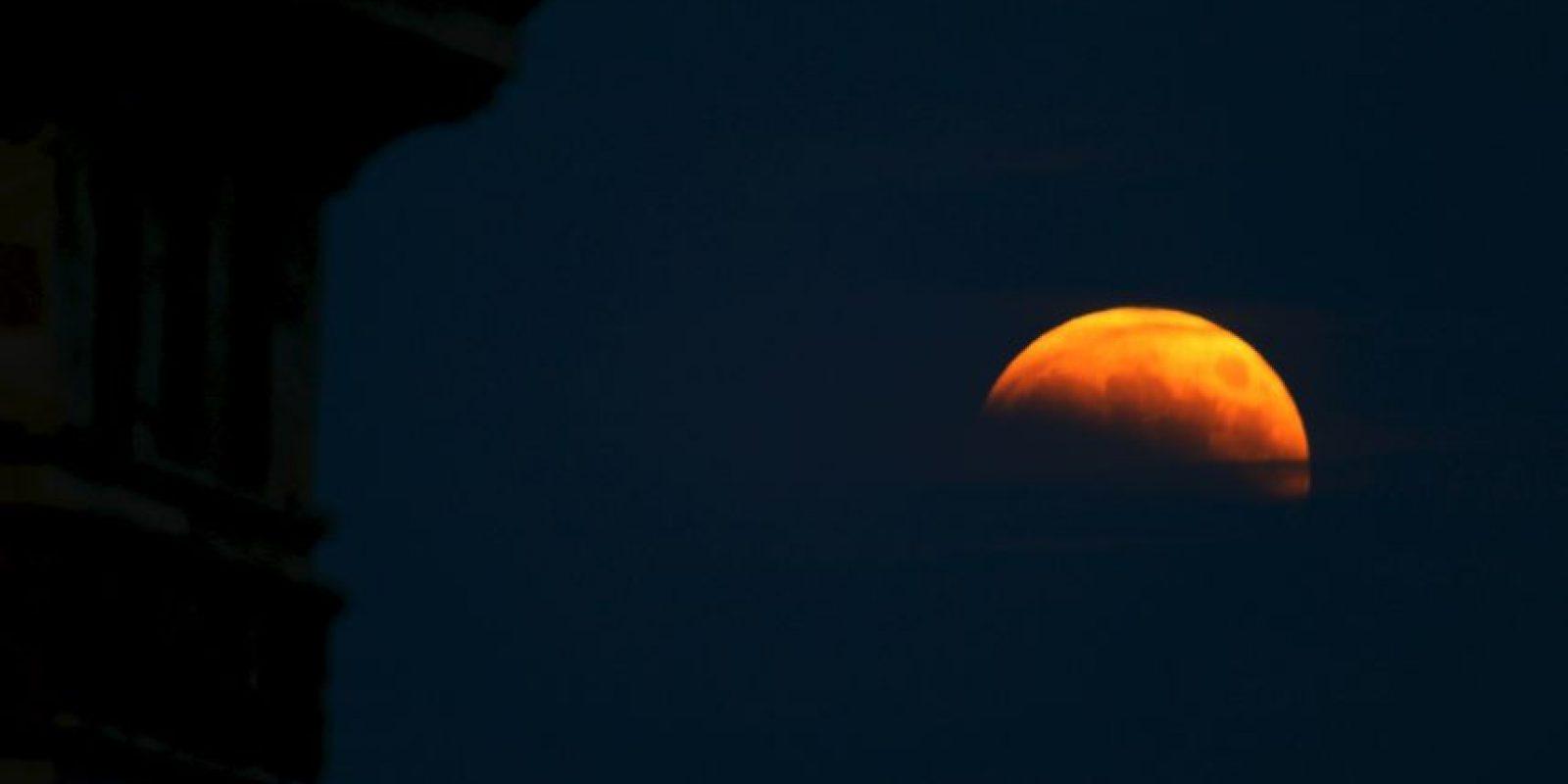 """Como mencionamos antes, las """"lunas de sangre"""" son sencillamente eclipses lunares. Foto:Getty Images"""