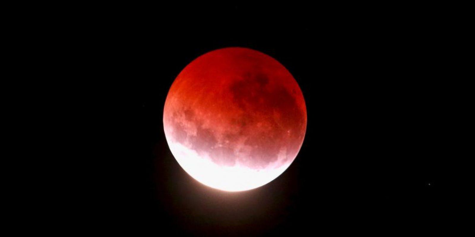 """La explicación científica de las """"lunas de sangre"""": Foto:Getty Images"""