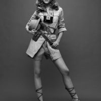 A mitad de los años 70 abandonó su carrera por pelearse con la editora de Vogue de entonces, Grace Mirabella. Foto:vía Getty Images