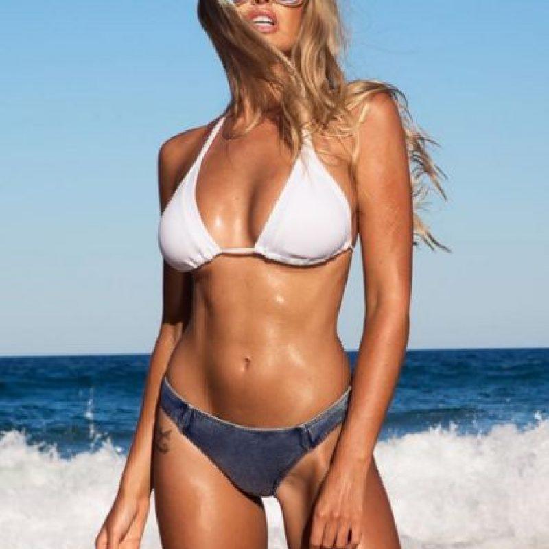 """Además de dedicarse al modelaje, se dedica al fitness y es """"personal trainer"""". Foto:Vía instagram.com/kahiliblundell"""