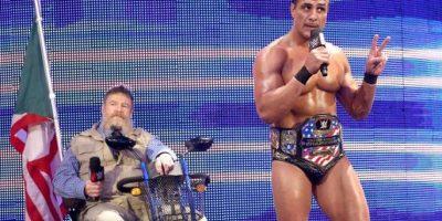 Actualmente es el monarca de Estados Unidos de la WWE Foto:WWE