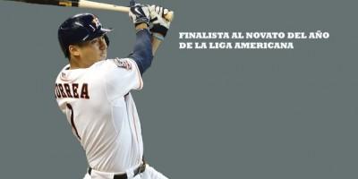 Carlos Correa es el favorito para el Novato del Año en la Liga Americana