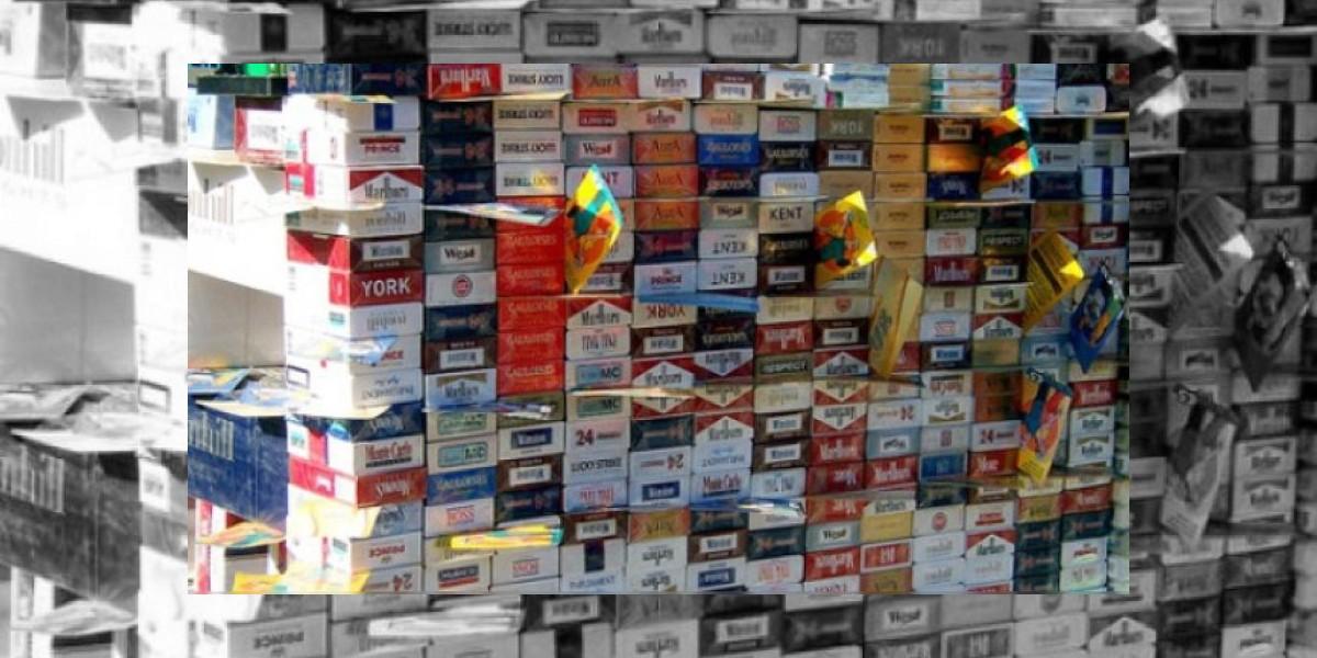 MP y DGA decomisan cigarrillos de contrabando