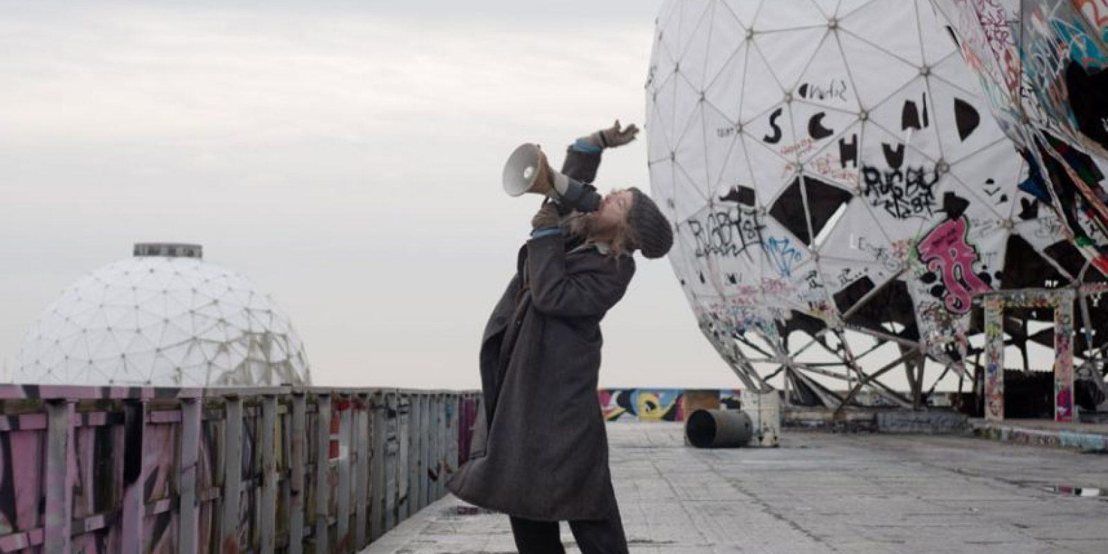 """Cate Blanchett es la verdadera estrella detrás de este """"hombre de la calle"""". Foto:vía acmi.net.au"""