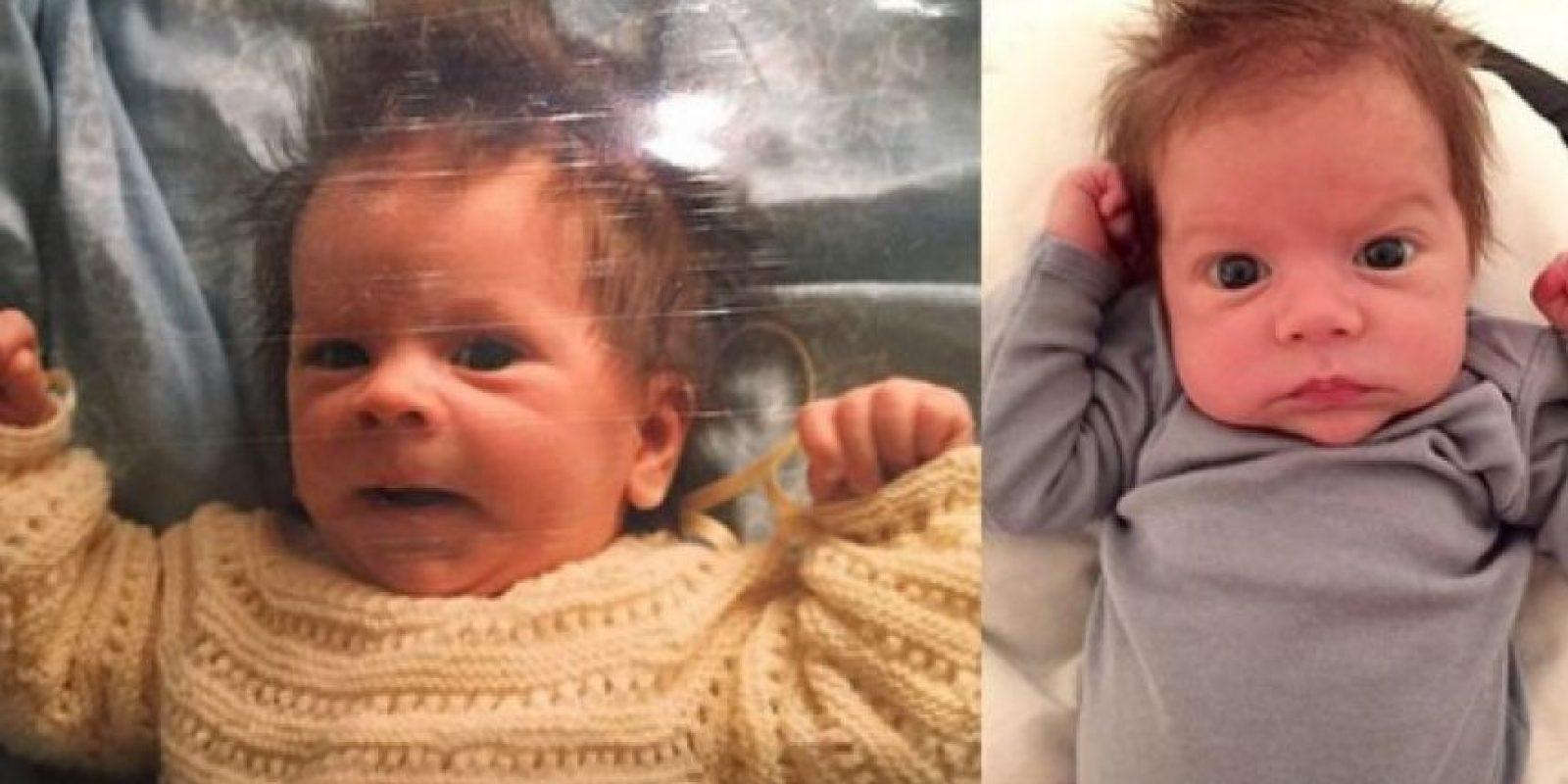 Parece que el jugador fue clonado y así nació Sasha, su segundo hijo con Shakira. Foto:Vía instagram.com/3gerardpique