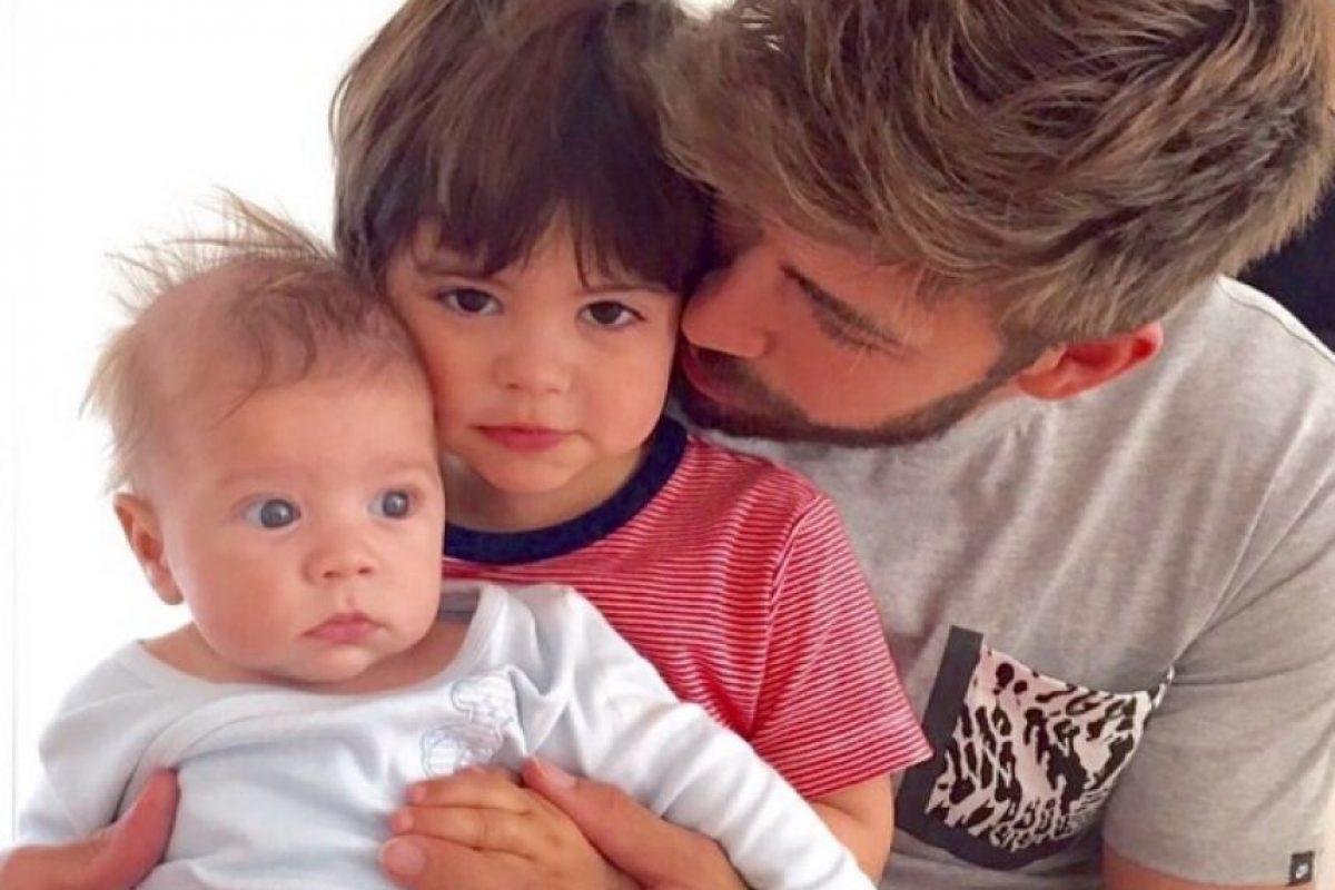 5. Gerard Piqué Foto:Vía instagram.com/3gerardpique