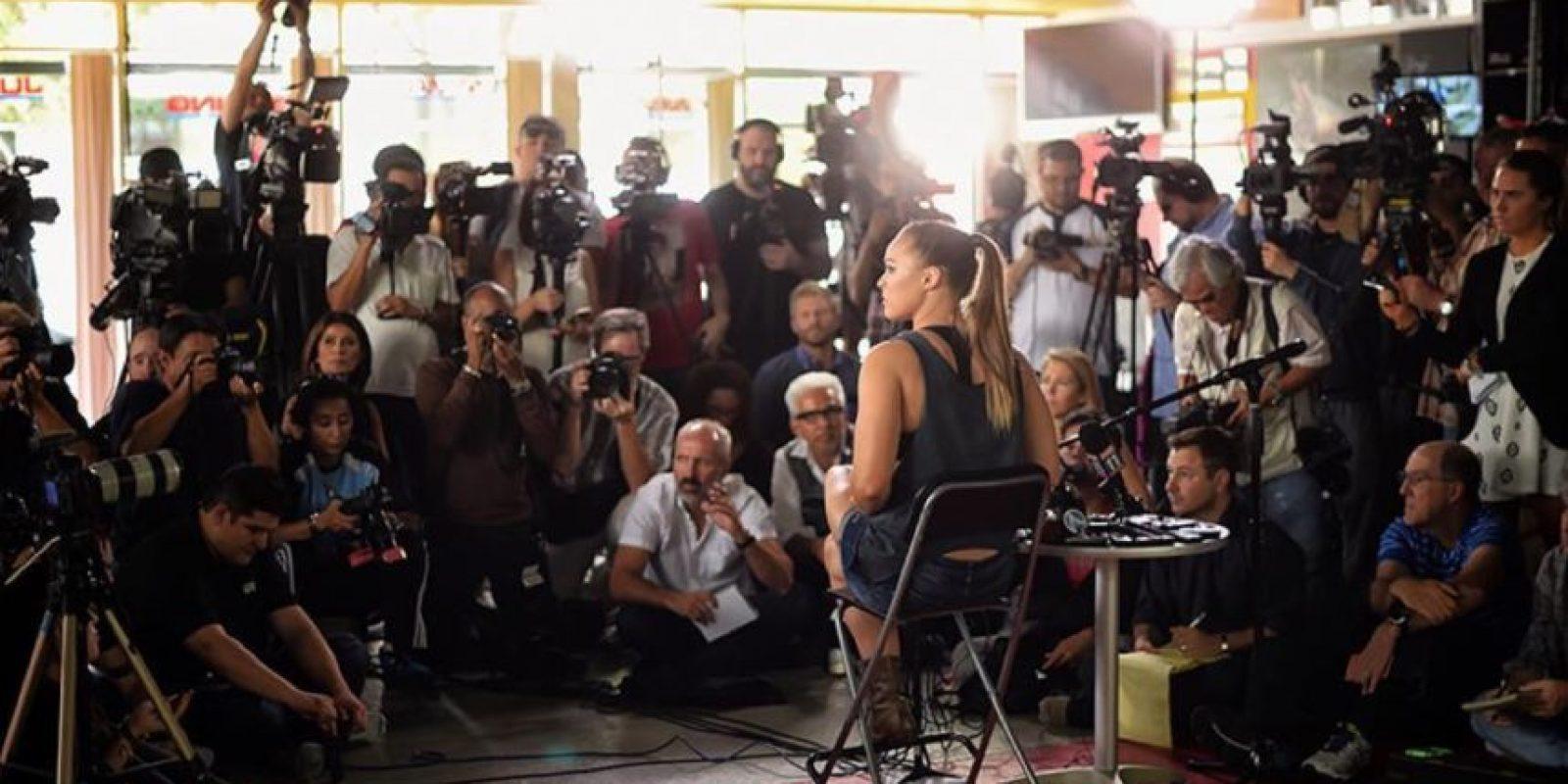 Miren las últimas imágenes de las redes sociales de Ronda Rousey, antes de su pelea con Holly Holm Foto:Vía instagram.com/rondarousey
