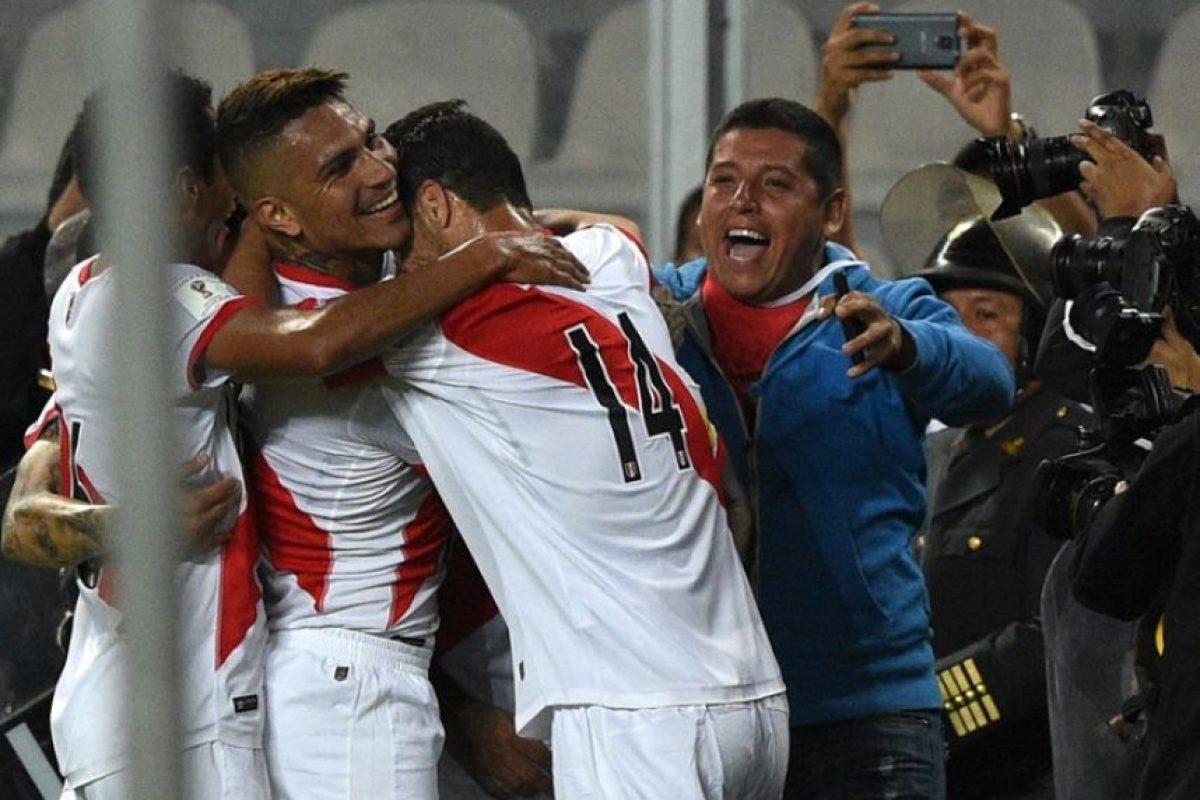"""La """"Bicolor"""" suma tres de nueve puntos disputados Foto:AFP"""