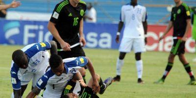 El partido se jugó en San Pedro Sula Foto:AFP