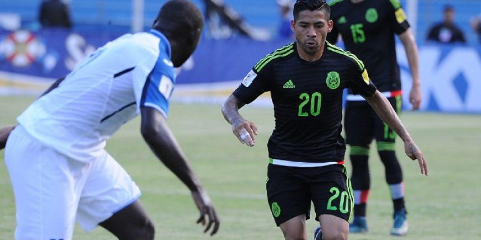 """El """"Tri"""" ganó 2-0 a los centroamericanos Foto:AFP"""