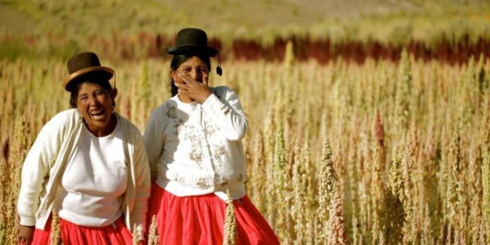 Productoras peruanas de quinoa.