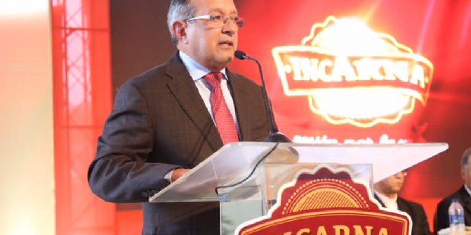 El ministro de Agricultura, Ángel Estévez Foto:@Twitter PresidenciaRD