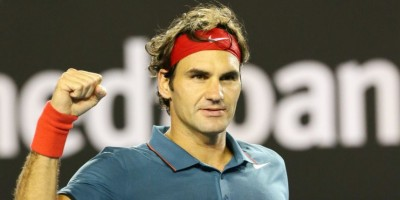 Roger Federer ofrece una lección y se planta en semifinales