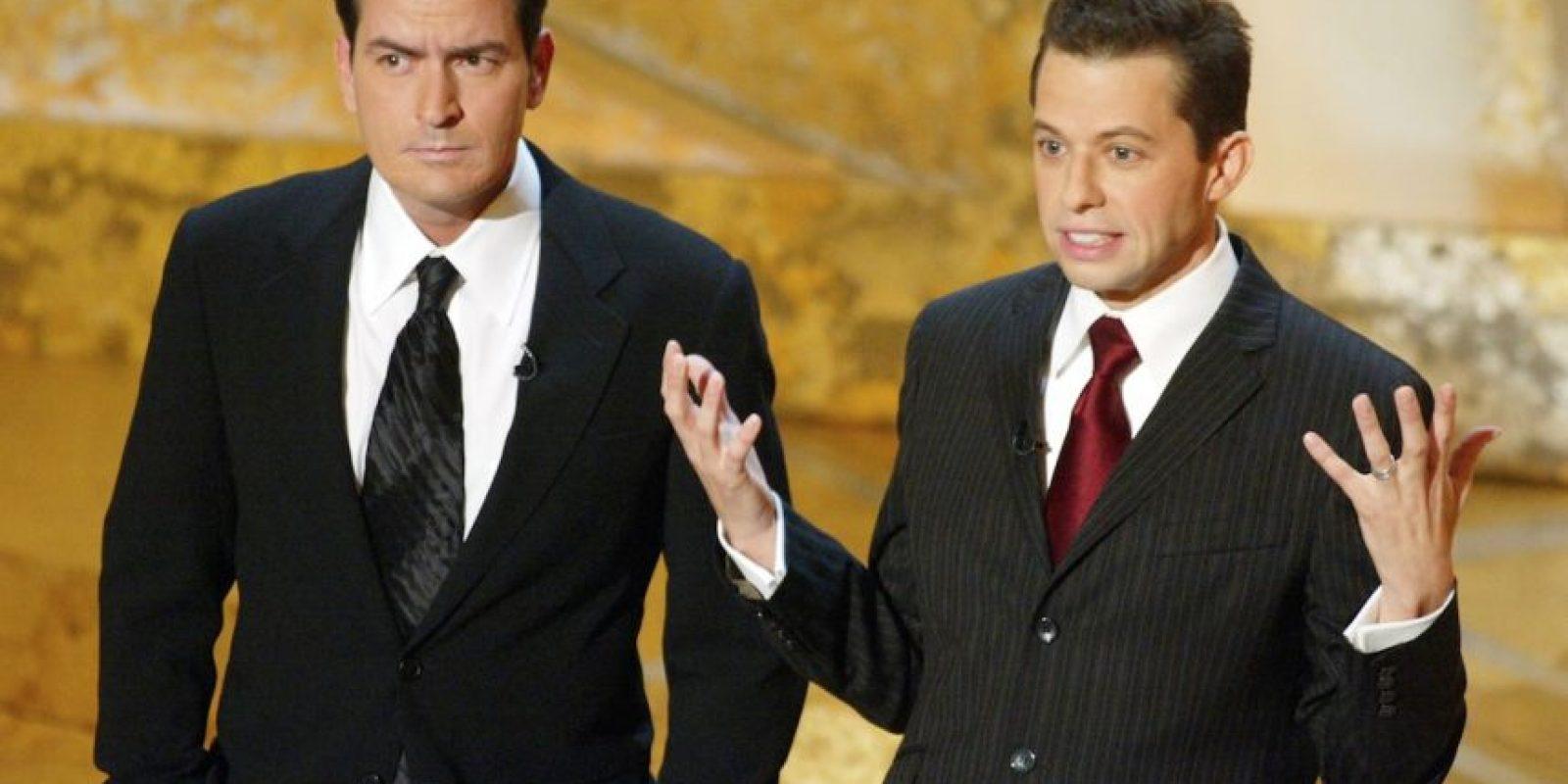 """En 2003 se unió al elenco de """"Two and a Half Men"""" Foto:Getty Images"""