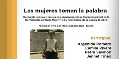 """""""Las Mujeres toman la palabra"""""""