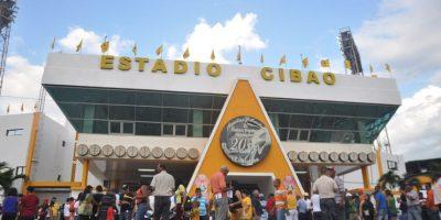 Estadio Cibao, casa del equipo Águilas Cibaeñas.