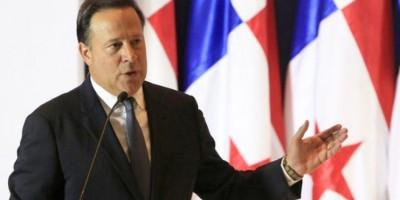 El presidente panameño inicia visita oficial al país
