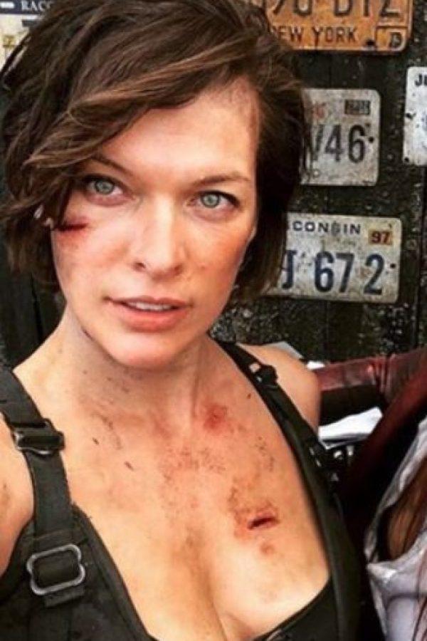 """""""Resident Evil: The Final Chapter"""" se estrenará en enero de 2017 Foto:vía instagram.com/millajovovich"""