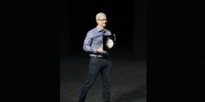 La cámara frontal es de 1.2 megapíxeles. Foto:Apple