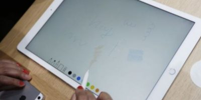 Apple Pencil ayudará en cuestiones de precisión. Foto:Apple