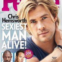 "Chris Hemsworth en 2014 Foto:Revista ""People"""
