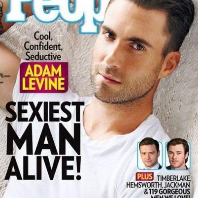 """Adam Levine en 2013 Foto:Revista """"People"""""""