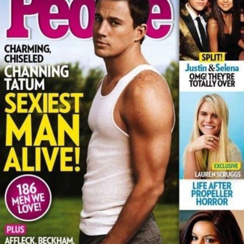 "Channing Tatum en 2012 Foto:Revista ""People"""