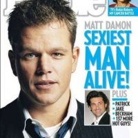 "Matt Damon en 2007 Foto:Revista ""People"""