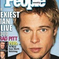 "Brad Pitt en 2000 Foto:Revista ""People"""
