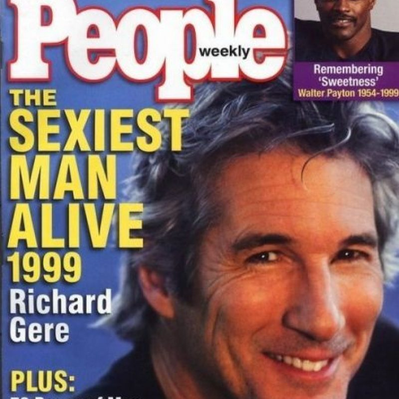 "Richard Gere en 1999 Foto:Revista ""People"""