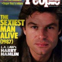 """Harry Hamlin en 1987 Foto:Revista """"People"""""""