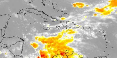 La Onamet pronostica aguaceros aislados para la tarde y la noche de hoy